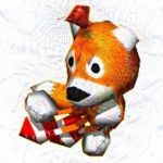 Google DeepDream Tails Doll by wildabeast73