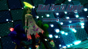 MMD: Miku and Sonic Bad Devil Apple by BluexBlur