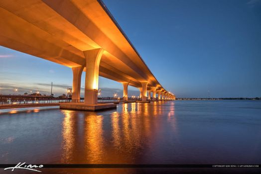 Roosevelt-Bridge-Stuart-Florida-Along-St-Lucie-Riv by CaptainKimo
