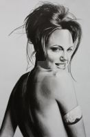 Angelina Jolie by PassionDraw