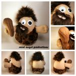 Cornelius the Crazy Caveman STUFFED Plushie by Saint-Angel