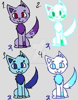 Cute Adopts set 4 by Snowflame132