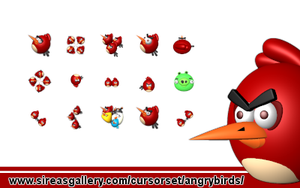 Angry Birds Cursors by SireaSis