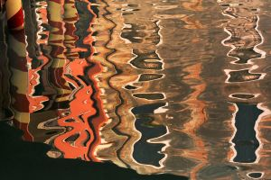 Venice - canal reflections 7 by wildplaces