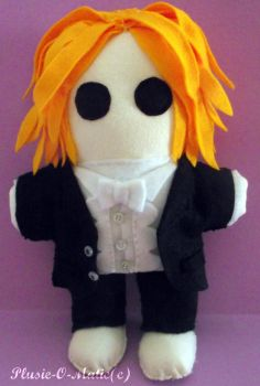 Tim Minchin Plushie by Plushie-O-Matic