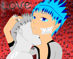grimmjow and hallowichigo love by ItalyLover23