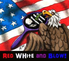 Red White and Blow by Keith-McGuckin