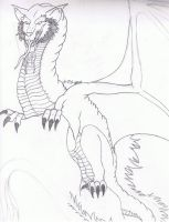 Smaug The Terrible WIP by Levex01