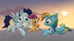 Happy pegasi by CharlyDasher