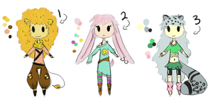 ::OPEN:: New Adopts by Dellisa121