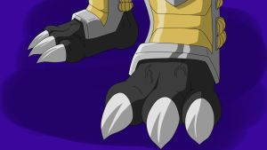 Blackwargreymon Feet by KenJ91