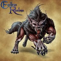 Endless Realms bestiary - Barghest by jocarra