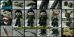Loki: God of Mischief ~ Plush Details by StitchedAlchemy
