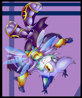 .:Art Trade:. Efil on the Wind~ by Jewel-Shapeshifter