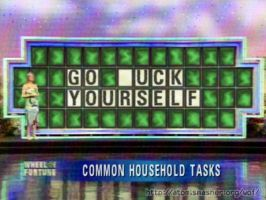 Wheel of Fortune spoof by MidoriEyes