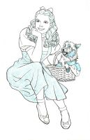 DOROTHY AND TOTO by Jerome-K-Moore