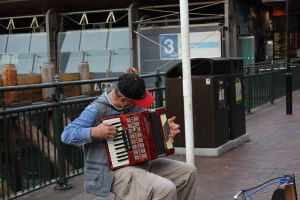 Accordion player by vprima14