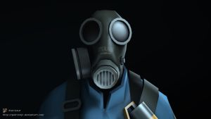 SFM Poster: Meet the Pyro -Blu- by PatrickJr
