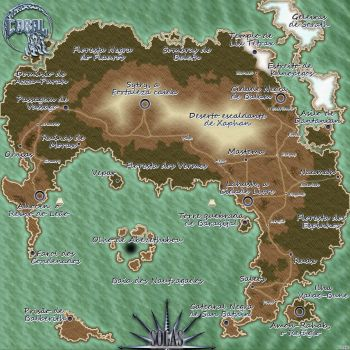 Solas continent by darkwes