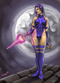 Psylocke by RIVOLUTION