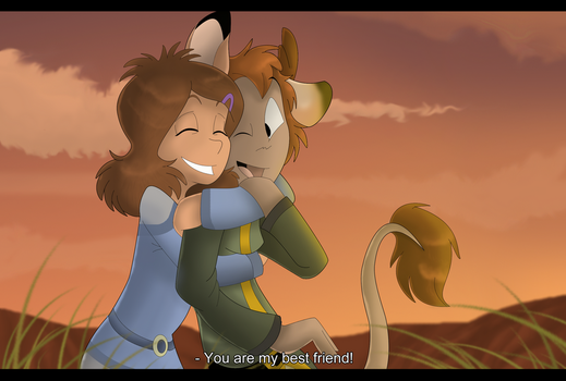 You are my best friend by Eweeka