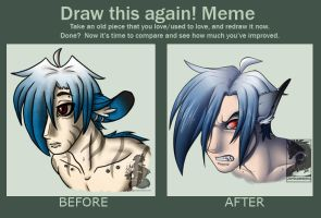 Draw this again meme by Japandragon