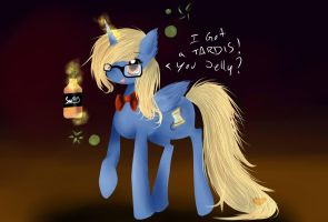 Time Twister Hipster Is Tipsy by Ambercatlucky2