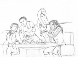 A Game of Chess by Bluesrat