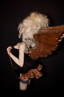 closeup of Steampunk wings by incantostudios