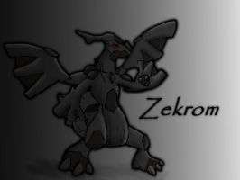 Zekrom by GreenGamerJ