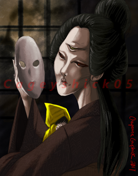 The Lady -Unmasked- by Cageyshick05