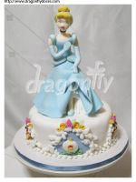 Cinderella Cake by dragonflydoces