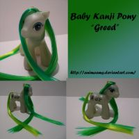 Kanji Pony Greed by AnimeAmy