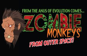 Zombie Monkeys from Outerspace... by thecrow1299