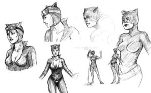 Catwoman by e-nat