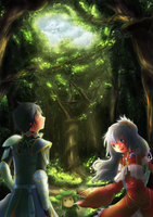 Into the Forest by Ritzueli