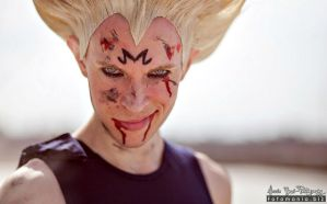 Majin Vegeta Cosplay .:The eyes of Prince:. by Alexcloudsquall