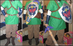 Skyward Sword Link - Cosplay Body Shots by sugarpoultry