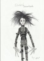 Edward Scissorhands by Mr-Revoltz