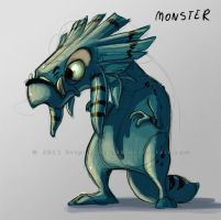 monster concept 1 by Sythgara