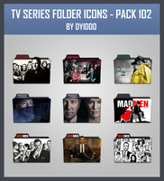 TV Series Folder Icons - Pack 102 by DYIDDO