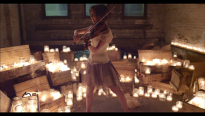 Lindsey Stirling Song of Caged Bird Strong Pose by SeraphSirius