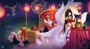 The Art of Revelry - Contest Entry by riaru
