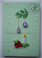 Quilling - card 109 by Eti-chan