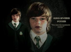 Albus Potter 'the Slytherin' by hnl