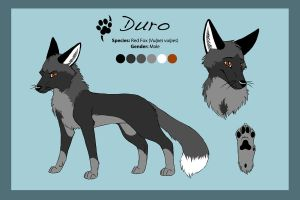 Reference Sheet - Duro by Saffhire-Phoenix