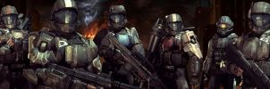 Meet the ODST squad by ShadowedRai
