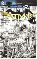 Batman Blank CVR Commission - Penguin by edtadeo
