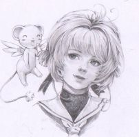 Card Captor Sakura -Sakura kinomoto in Semirealism by marvioxious89