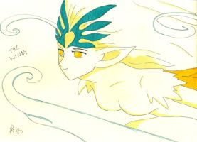 The Windy Clow Card by Ave606